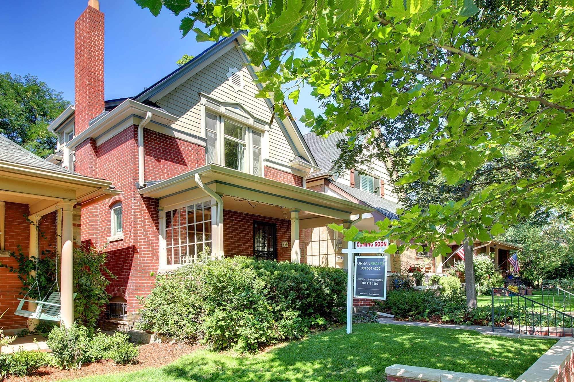 Victorian home for sale Denverat 7th Ave Historic District – Stunning two-story Victorian